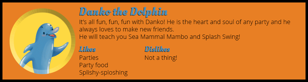 Danko the Dolphin Animal's Book of Dance