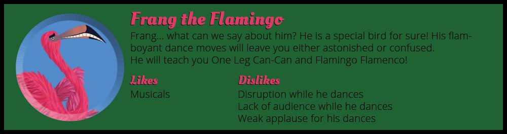 Frang the Flamingo Animal's Book of Dance