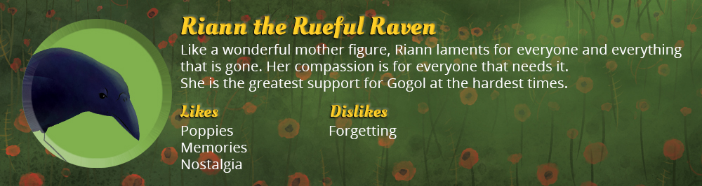 Riann the Rueful Raven